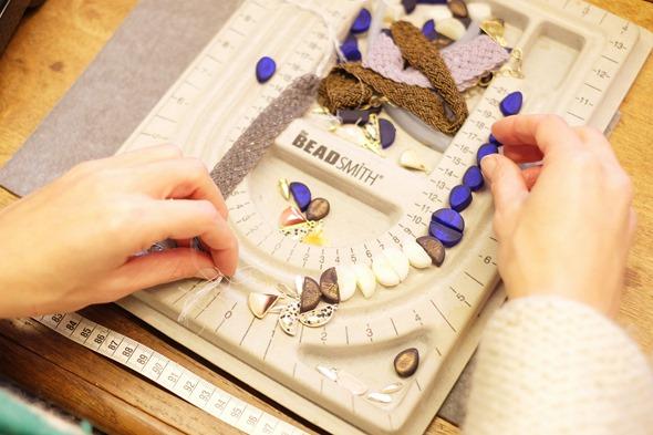 juwelen maken met Murano kralen, zahia kralen en juwelen