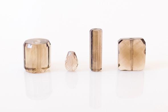 rookkwarts kralen_Zahia exclusive collection