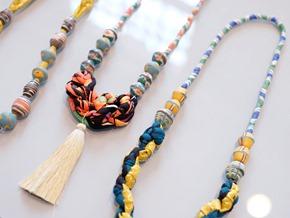 Halssnoer met vintage kralen Muranoglas_ethnisch_5