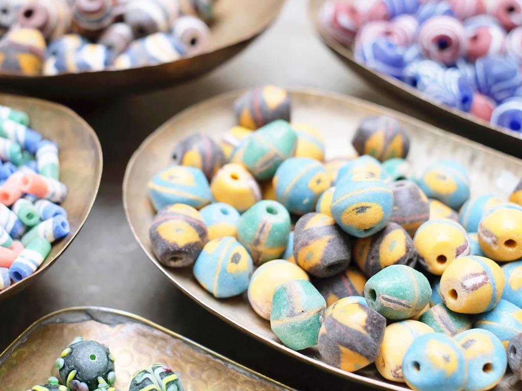 Nieuw : authentiek Murano glas met een etnische look