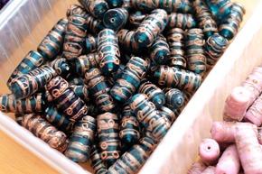 glaskralen om juwelen te maken, stockverkoop 17