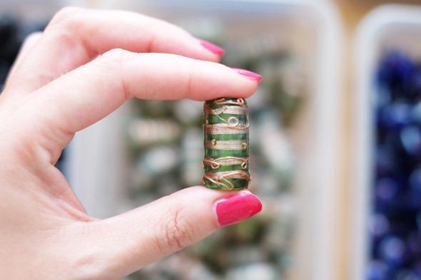 glaskralen om juwelen te maken, stockverkoop 2