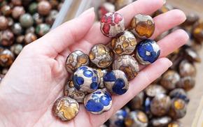 glaskralen om juwelen te maken, stockverkoop 32