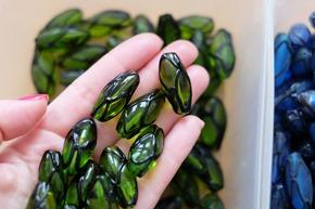 glaskralen om juwelen te maken, stockverkoop 3
