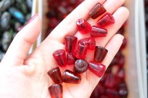 glaskralen om juwelen te maken, stockverkoop 7