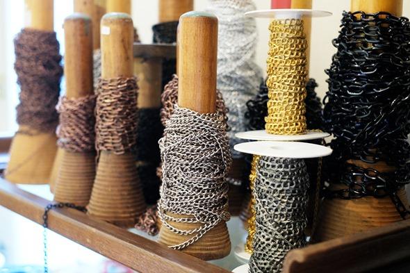 metalen ketting om juwelen te maken, stocksale antwerpen