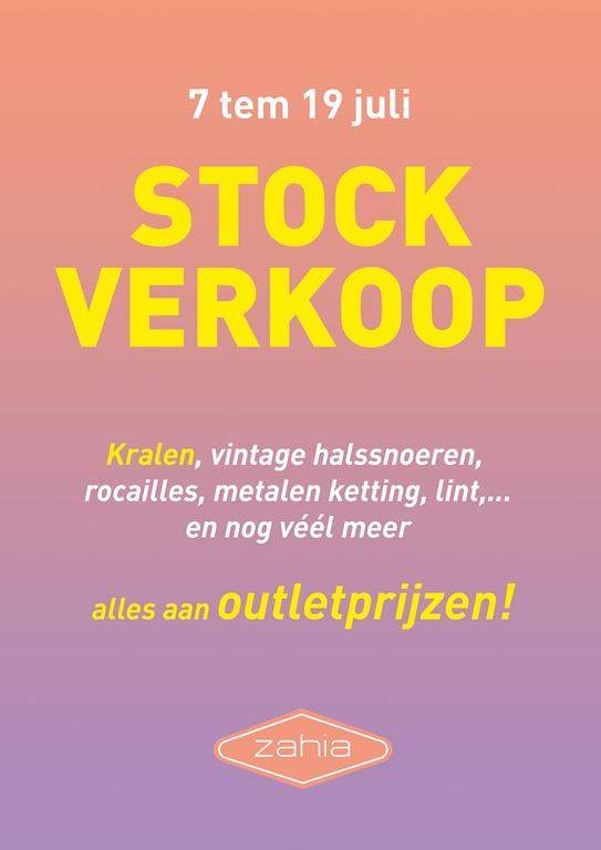 MEGA STOCKSALE bij Zahia Antwerpen!