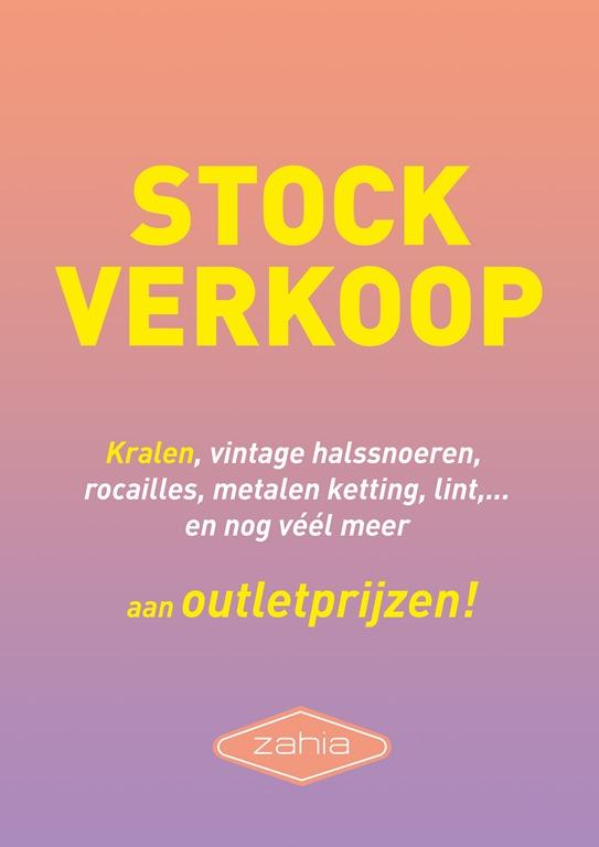 MEGA STOCKSALE bij Zahia Antwerpen en Zahia Gent!