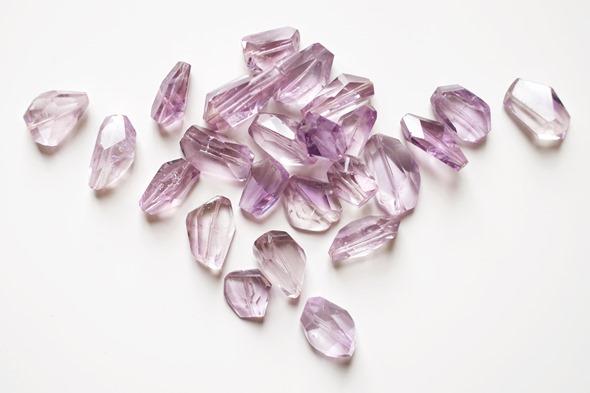 amethist kralen, edelstenen om juwelen te maken, zahia