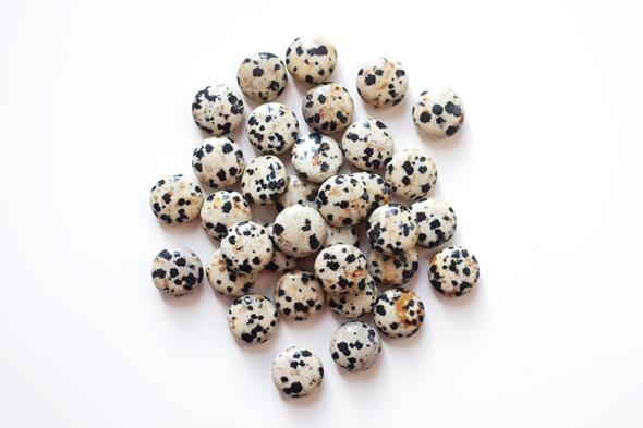 dalmatier jaspis kralen om juwelen te maken, edelstenen zahia