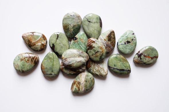 druppelvormige jaspis kralen, edelstenen om juwelen te maken, zahia