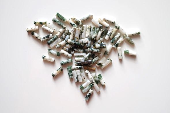 kralen mosagaat om juwelen te maken, edelstenen zahia (1)