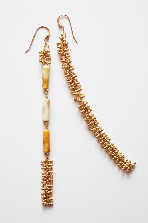 lange oorbellen met jaspis kralen en ketting, zahia juwelen (1)