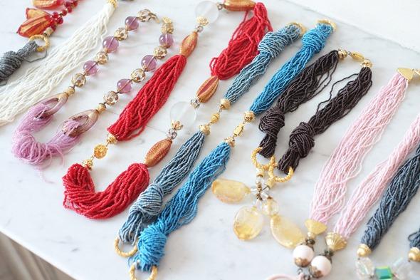 juwelen met venetiaanse conterie en murano glas, stockverkoop antwerpen kralen