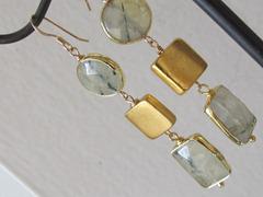 goud en zilver ketting rubber 010
