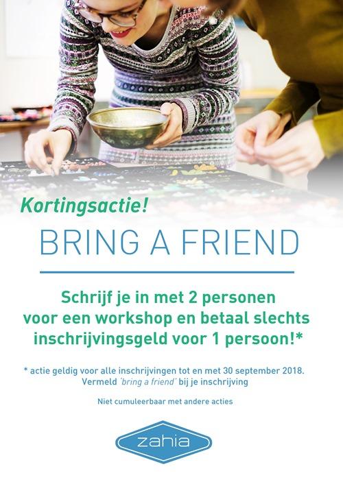 bring a friend actie 2018