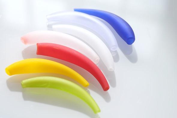 mini tubi in verschillende kleuren, Murano glas