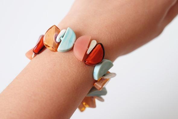 armband met murano glaskralen sommerso, zahia juwelen2b