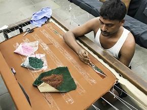 broderie d'art_India
