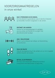 Voorzorgsmaatregelen in onze winkels