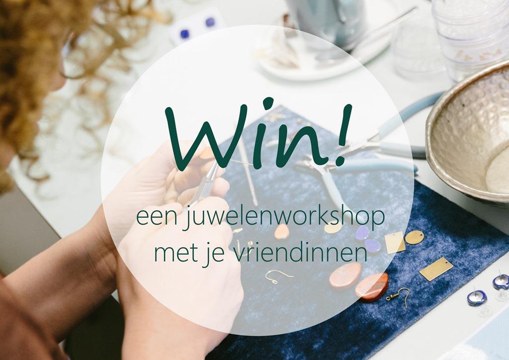 Win een juwelenworkshop voor 6 personen bij Zahia Mechelen!