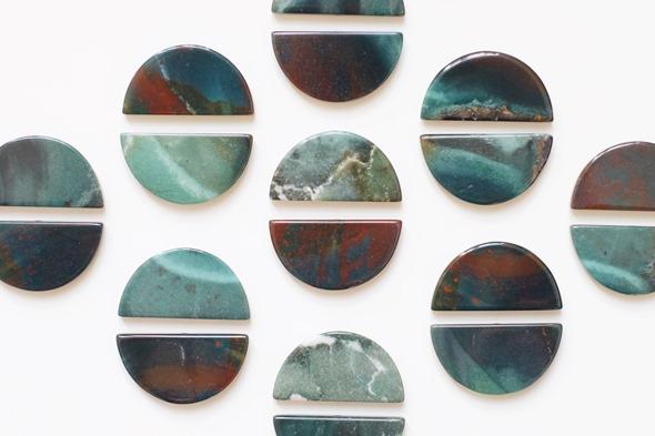 bloedagaat edelsteen, kralen om juwelen te maken, zahia exclusive collectie,3