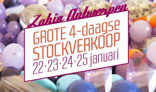 Zahia Antwerpen wordt tijdelijk OUTLET!