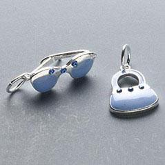 bril tasje blauw