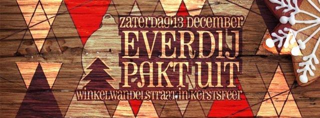 Zaterdag 13 december: Everdij pakt uit! Live muziek, goodie-bags en 10% korting op het volledige Zahia-gamma!!!