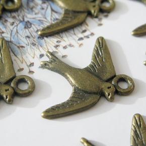 vintage bedel vogeltjes-vierkant