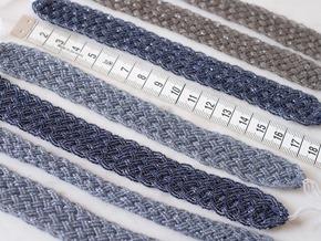 blauw zilver grijs snoeren vintage rocailles_seed beads_zahia kralen5